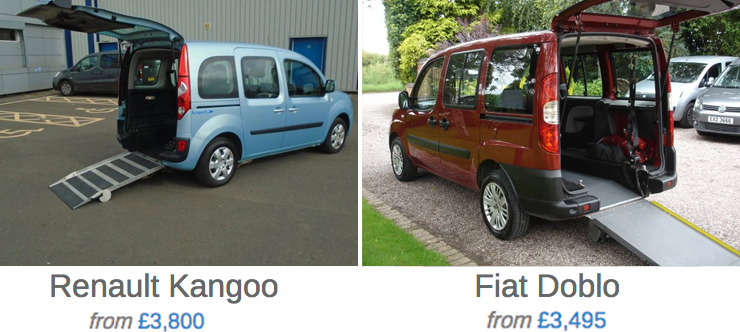 There are many types of wheelchair cars.