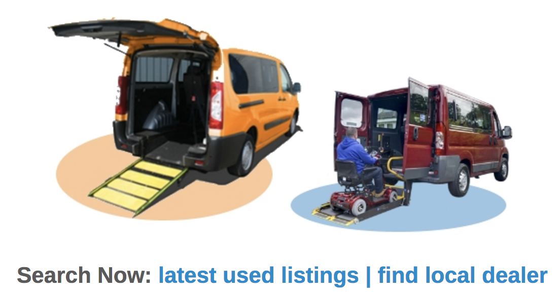 Wheelchair accessible vehicles Cornwall.
