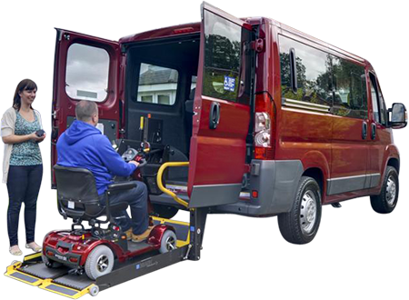 wheelchair accessible vehicles solihull